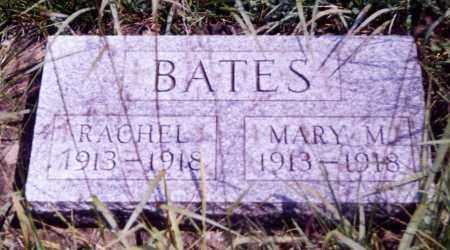 BATES, RACHEL - Noble County, Ohio | RACHEL BATES - Ohio Gravestone Photos