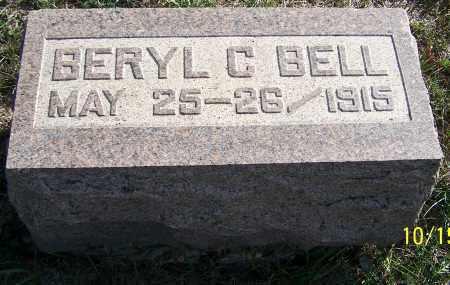 BELL, BERYL C. - Noble County, Ohio | BERYL C. BELL - Ohio Gravestone Photos
