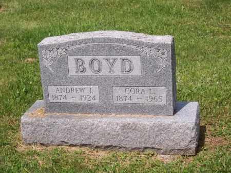 BOYD, ANDREW J. - Noble County, Ohio | ANDREW J. BOYD - Ohio Gravestone Photos