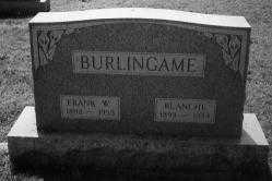 BURLINGAME, BLANCHE - Noble County, Ohio | BLANCHE BURLINGAME - Ohio Gravestone Photos