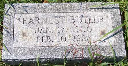 BUTLER, EARNEST - Noble County, Ohio | EARNEST BUTLER - Ohio Gravestone Photos