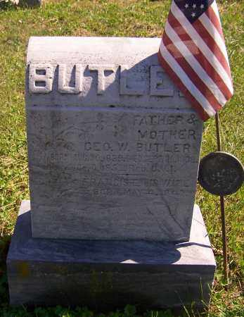 BUTLER, FRANCIS E. - Noble County, Ohio | FRANCIS E. BUTLER - Ohio Gravestone Photos