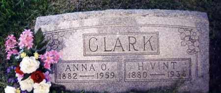 CLARK, ANNA O. - Noble County, Ohio | ANNA O. CLARK - Ohio Gravestone Photos