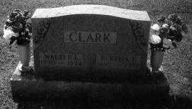 CLARK, BERTHA F. - Noble County, Ohio | BERTHA F. CLARK - Ohio Gravestone Photos