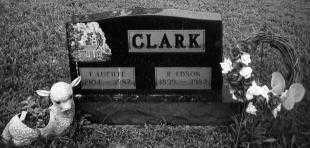 CLARK, F. LUCILLE - Noble County, Ohio | F. LUCILLE CLARK - Ohio Gravestone Photos