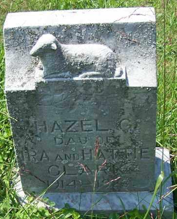CLARK, HAZEL G. - Noble County, Ohio   HAZEL G. CLARK - Ohio Gravestone Photos