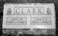 CLARK, JAMES W. - Noble County, Ohio   JAMES W. CLARK - Ohio Gravestone Photos