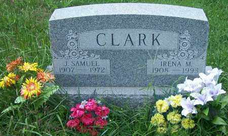 CLARK, IRENA M. - Noble County, Ohio | IRENA M. CLARK - Ohio Gravestone Photos