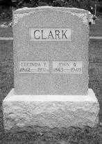 CLARK, LUCINDA E. - Noble County, Ohio   LUCINDA E. CLARK - Ohio Gravestone Photos