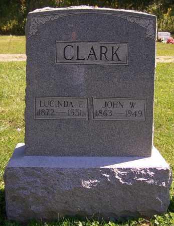 CLARK, LUCINDA E. - Noble County, Ohio | LUCINDA E. CLARK - Ohio Gravestone Photos