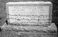 CLARK, PAUL HAYES - Noble County, Ohio | PAUL HAYES CLARK - Ohio Gravestone Photos