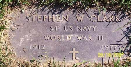 CLARK, STEPHEN W. - Noble County, Ohio | STEPHEN W. CLARK - Ohio Gravestone Photos