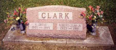 BRYAN CLARK, V. IRENE - Noble County, Ohio   V. IRENE BRYAN CLARK - Ohio Gravestone Photos