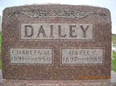 DAILEY, CHARLES AND HAZEL - Noble County, Ohio | CHARLES AND HAZEL DAILEY - Ohio Gravestone Photos