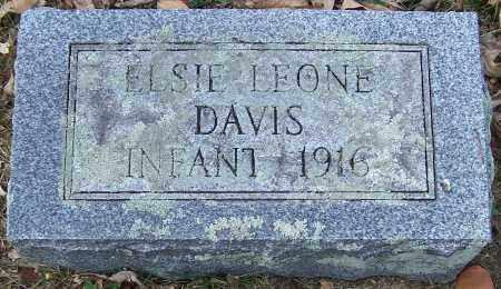 DAVIS, ELSIE LEONE - Noble County, Ohio | ELSIE LEONE DAVIS - Ohio Gravestone Photos