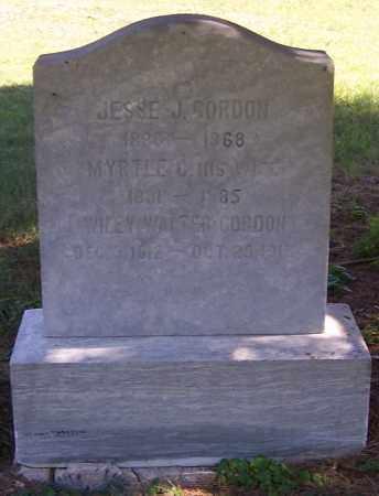 GORDON, WILEY WALTER - Noble County, Ohio | WILEY WALTER GORDON - Ohio Gravestone Photos