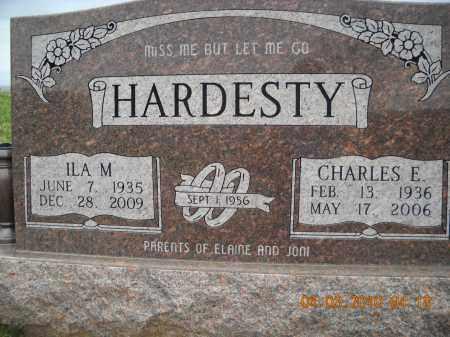 HARDESTY, CHARLES AND ILA - Noble County, Ohio   CHARLES AND ILA HARDESTY - Ohio Gravestone Photos