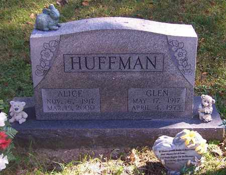 HUFFMAN, GLEN - Noble County, Ohio | GLEN HUFFMAN - Ohio Gravestone Photos