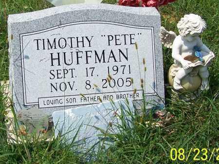 "HUFFMAN, TIMOTHY ""PETE"" - Noble County, Ohio | TIMOTHY ""PETE"" HUFFMAN - Ohio Gravestone Photos"