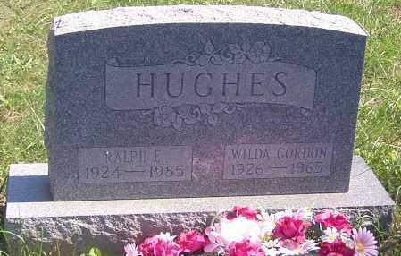 HUGHES, WILDA GORDON - Noble County, Ohio   WILDA GORDON HUGHES - Ohio Gravestone Photos