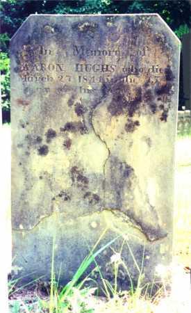 HUGHS, AARON, SR. - Noble County, Ohio | AARON, SR. HUGHS - Ohio Gravestone Photos