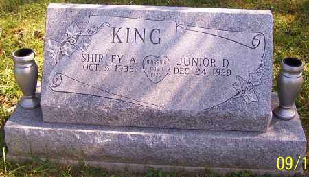 KING, SHIRLEY A. - Noble County, Ohio | SHIRLEY A. KING - Ohio Gravestone Photos
