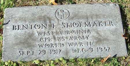 SHOEMAKER, BENTON L. - Noble County, Ohio | BENTON L. SHOEMAKER - Ohio Gravestone Photos