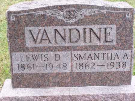 KIRKBRIDE VANDINE, SAMANTHA A - Noble County, Ohio   SAMANTHA A KIRKBRIDE VANDINE - Ohio Gravestone Photos