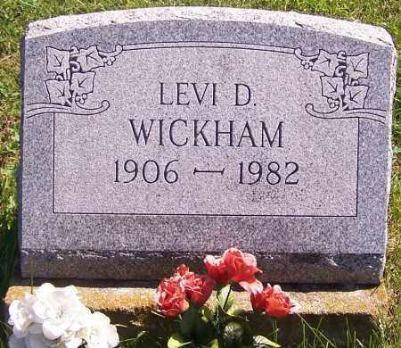 WICKHAM, LEVI D. - Noble County, Ohio   LEVI D. WICKHAM - Ohio Gravestone Photos