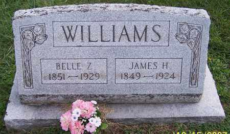 WILLIAMS, JAMES H. - Noble County, Ohio | JAMES H. WILLIAMS - Ohio Gravestone Photos