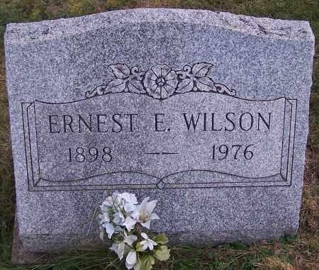 WILSON, ERNEST E. - Noble County, Ohio | ERNEST E. WILSON - Ohio Gravestone Photos