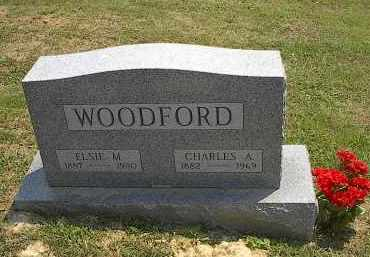 WOODFORD, CHARLES A. - Noble County, Ohio | CHARLES A. WOODFORD - Ohio Gravestone Photos