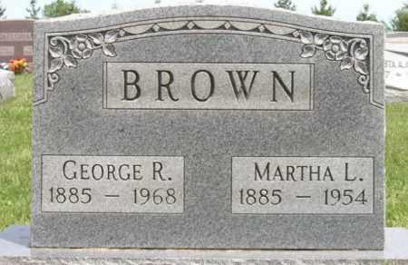 BROWN, GEORGE R. - Ottawa County, Ohio | GEORGE R. BROWN - Ohio Gravestone Photos
