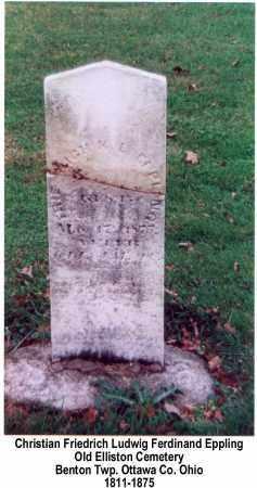 EPPLING, FRED - Ottawa County, Ohio | FRED EPPLING - Ohio Gravestone Photos
