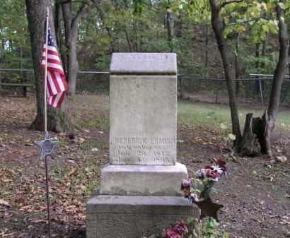ERMISH, FREDERICK - Ottawa County, Ohio   FREDERICK ERMISH - Ohio Gravestone Photos