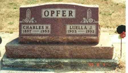 OPFER, CHARLES - Ottawa County, Ohio   CHARLES OPFER - Ohio Gravestone Photos