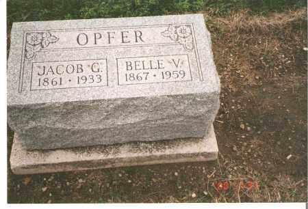 WYATT OPFER, BELLE V - Ottawa County, Ohio | BELLE V WYATT OPFER - Ohio Gravestone Photos