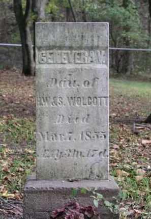 WOLCOTT, GENEVERA V. - Ottawa County, Ohio   GENEVERA V. WOLCOTT - Ohio Gravestone Photos