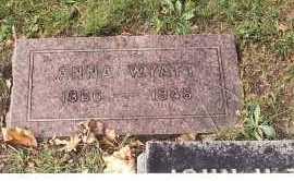 SNYDER WYATT, ANNA - Ottawa County, Ohio | ANNA SNYDER WYATT - Ohio Gravestone Photos
