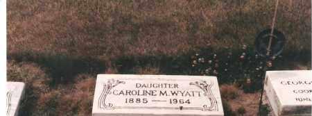 WYATT, CAROLINE - Ottawa County, Ohio | CAROLINE WYATT - Ohio Gravestone Photos