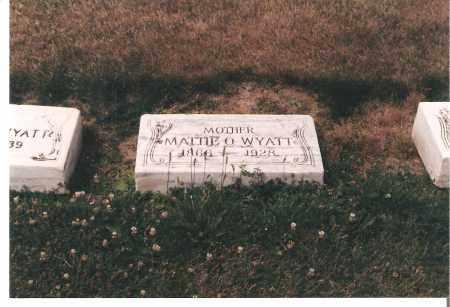 WAINWRIGHT WYATT, MATTIE - Ottawa County, Ohio | MATTIE WAINWRIGHT WYATT - Ohio Gravestone Photos