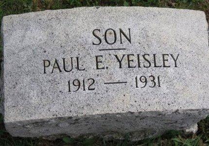 YEISLEY, PAUL E. - Ottawa County, Ohio | PAUL E. YEISLEY - Ohio Gravestone Photos