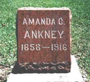 GOOD ANKNEY, AMANDA CAROLYN - Paulding County, Ohio | AMANDA CAROLYN GOOD ANKNEY - Ohio Gravestone Photos