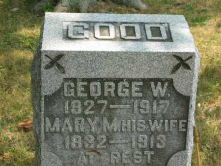 GOOD, MARY MAHALA - Paulding County, Ohio | MARY MAHALA GOOD - Ohio Gravestone Photos