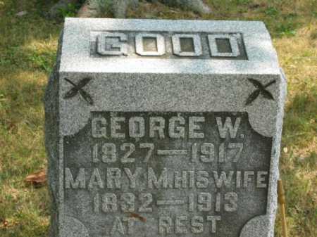 RICE GOOD, MARY MAHALA - Paulding County, Ohio | MARY MAHALA RICE GOOD - Ohio Gravestone Photos