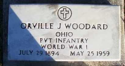 WOODARD, ORVILLE - Paulding County, Ohio | ORVILLE WOODARD - Ohio Gravestone Photos