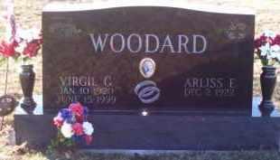 WOODARD, VIRGIL - Paulding County, Ohio   VIRGIL WOODARD - Ohio Gravestone Photos