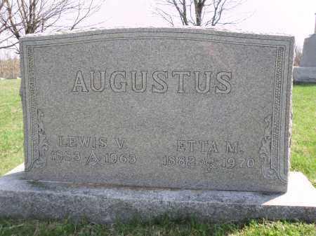 AUGUSTUS, LEWIS VINCENT - Perry County, Ohio | LEWIS VINCENT AUGUSTUS - Ohio Gravestone Photos