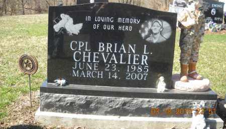CHEVALIER, BRIAN - Perry County, Ohio   BRIAN CHEVALIER - Ohio Gravestone Photos