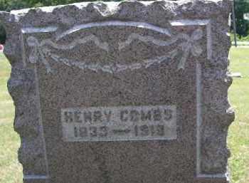 COMBS, HENRY - Perry County, Ohio | HENRY COMBS - Ohio Gravestone Photos